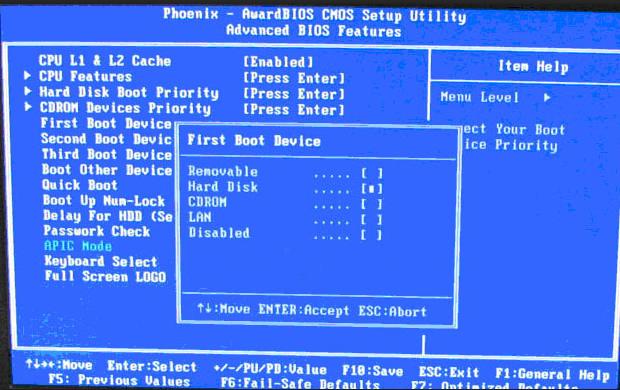 BIOS设置